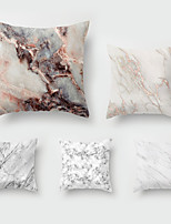 cheap -5 pcs Throw Pillow Simple Classic 45*45 cm Marbled Car Waist Pillow Sofa throw
