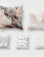cheap -5 pcs Throw Pillow Simple Classic 45*45 cm Marbled Car Waist Pillow Sofa throw