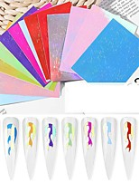 cheap -1 pcs Foil Sticker Totem Series nail art Manicure Pedicure Removable / Light and Convenient Artistic / Simple Daily / Birthday Party / Festival