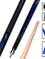 cheap -CUESOUL® 2-Piece Pool Cues Cue Sticks Maple Pool Nine-Ball 19oz 1 set Sports Portable High Quality
