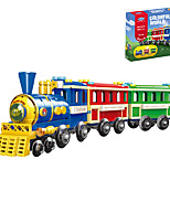 cheap -Building Blocks 369 pcs Train compatible Legoing Simulation Train All Toy Gift / Kid's