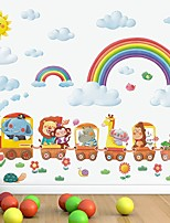 cheap -Rainbow Decorative Wall Stickers - Plane Wall Stickers Nursery / Kids Room