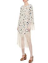 cheap -Gypsy Adults' Women's Bohemian Boho Dress For Party Polyster Tassel Halloween Carnival Dress