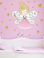 cheap -Decorative Wall Stickers - Plane Wall Stickers Princess / Fairies /  Stars Nursery / Kids Room