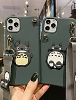 cheap -Case For Apple iPhone 11 / iPhone 11 Pro / iPhone 11 Pro Max Shockproof / Ultra-thin / Pattern Back Cover Solid Colored / Animal / Cartoon TPU