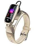 abordables -M9 smart talk band pour femmes hommes avec casque bluetooth taux de haine moniteur de pression artérielle sport bracelet smartwatch