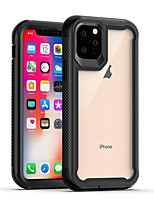 cheap -Case For Apple iPhone 11 / iPhone 11 Pro / iPhone 11 Pro Max Shockproof Back Cover Transparent / Solid Colored TPU
