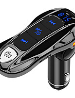 cheap -FM Transmitter FM Modulator Bluetooth 5.0 Car Kit MP3 Music Player Handsfree Dual USB Car Charger PD3.0 fast charge