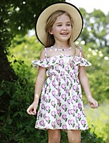 cheap -Kids Girls' Fruit Dress Blushing Pink