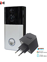 cheap -RSH Smart Doorbell Camera Wireless Wifi Video Intercom Doorbell Video Call Apartment Infrared Alarm Wireless Color Lens Security