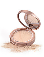 cheap -8 Colors Dry / Mineral Whitening / Concealer Cosmetic / Foundation / Powder # Glamorous & Dramatic / Sweet Single Open Lid / Kits / Easy to Carry Round Makeup Cosmetic