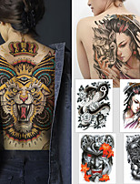 cheap -1 pcs Temporary Tattoos Water Resistant / Waterproof / Safety / Best Quality Body / Back Water-Transfer Sticker Body Painting Colors
