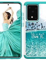 cheap -Case For Samsung Galaxy S20 / S20 Plus / S20 Ultra Shockproof / Pattern Back Cover Sea TPU / PC for A50(2019) / A40(2019) / A30(2019) / Note 10 Pro