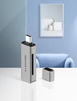 cheap -LENTION CB-TP-C7 USB 3.0 to USB 3.0 / SD Card / TF Card USB Hub 3 Ports High Speed / with Card Reader(s) / Support Thunderbolt 3