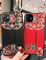cheap -Case For Apple iPhone 11 / iPhone 11 Pro / iPhone 11 Pro Max Shockproof / Pattern Back Cover Solid Colored / Flower PC