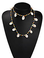 cheap -Gypsy Necklace Bohemian Boho Alloy Necklace Masquerade For Masquerade Party / Cocktail Halloween Carnival Women's Costume Jewelry Fashion Jewelry