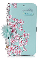 cheap -Case For Apple iPhone 11 / iPhone 11 Pro / iPhone 11 Pro Max Shockproof / Dustproof / Flip Back Cover Flower PU Leather / PC