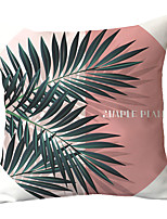 cheap -1 pcs Polyester Pillow Cover INS Chloroplastida Minimalist Leaves Geometric Cushions Pillowcases Sofas Backpacks Office Throw Pillowcases