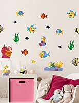 cheap -Animals / Nautical Wall Stickers Plane Wall Stickers Decorative Wall Stickers, PVC Home Decoration Wall Decal Wall / Window Decoration 1pc