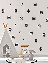 cheap -Decorative Wall Stickers - Plane Wall Stickers / Holiday Wall Stickers Cartoon Hero Shapes Nursery / Kids Room