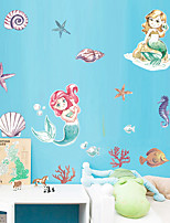 cheap -Decorative Wall Stickers - Plane Wall Stickers / Holiday Wall Stickers Princess / Fairies Nursery / Kids Room
