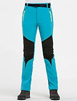 cheap -Women's Hiking Pants Patchwork Winter Outdoor Waterproof Windproof Breathable Warm Pants / Trousers Bottoms Ski / Snowboard Camping / Hiking / Caving Winter Sports Black Sky Blue Purple S M L XL XXL