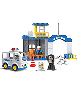 cheap -Building Blocks 36 pcs Military compatible Legoing Simulation Police car All Toy Gift / Kid's