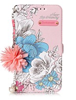 cheap -Case For Samsung S9 / S9 Plus / S8 Plus Shockproof / Dustproof / Ultra-thin Back Cover Flower TPU