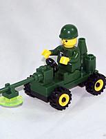 abordables -Blocs de Construction 0-38 pcs Militaire compatible Legoing Simulation Tout Terrain Tous Jouet Cadeau / Enfant