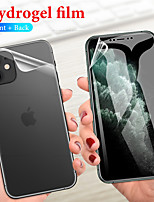 cheap -Ultra-thin front and rear TPU hydrogel protective film iPhone11 Pro Max iPhoneX / Xs XR XSMAX iPhone7 / 8 Plus hydrogel protective film