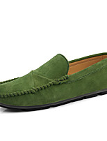 cheap -Men's Pigskin Fall / Spring & Summer Casual / British Loafers & Slip-Ons Breathable Yellow / Red / Orange