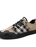 cheap -Men's Comfort Shoes Microfiber Spring & Summer / Fall & Winter Casual / British Sneakers Breathable Black / Yellow