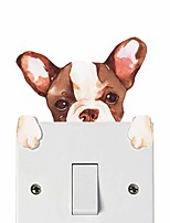 cheap -Light Switch Stickers - Plane Wall Stickers / Animal Wall Stickers Animals Nursery / Kids Room