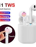 cheap -i11 earphones Touch Bluetooth earphones Stereo wireless headphones Sports headphones game headset for iphone Samsung Huawei
