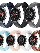 cheap -20mm/22mm Samsung Galaxy Watch 42MM/46MM /Galaxy watch active2/active/gear S3/ Gear2 R380/ Gear2 Neo R381/ Live R382 Buckle / Business Band Genuine Leather Wrist Strap
