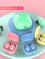 cheap -Color XG12 TWS Bluetooth 5.0 Earphones Wireless Waterproof Mini In-ear HIFI Headset for wearable devices
