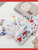 cheap -Case For Apple iPhone 11 / iPhone 11 Pro / iPhone 11 Pro Max Ultra-thin / Transparent / Pattern Back Cover Animal / Cartoon TPU For iPhone XS/XS Max/XR/XS/7/8 Plus/6/6s Plus