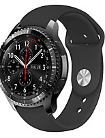 cheap -Watch Band for Gear S3 Classic / Gear 2 R380 / Gear 2 Neo R381 Samsung Galaxy Modern Buckle Silicone Wrist Strap