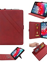cheap -Case For Apple iPad Pro 12.9''2015-2017 / iPad Pro 12.9''(2018) Wallet / Card Holder / with Stand Full Body Cases Geometric Pattern PU Leather Case For iPad Pro 12.9''2015-2017 / iPad Pro 12.9''(2018)
