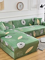 cheap -Nordic Green Elastic Stretch Sofa Cover Single Three Person Combination Sofa Cover
