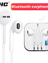 cheap -Wired Stereo Earphones With Microphone In-Ear For iPhone 8 7 Plus X XR XS wired stereo earbuds gifts headphone