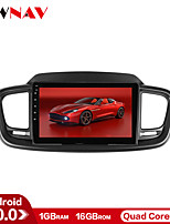 cheap -ZWNAV 10.1 inch 1din Android 10.0 1GB 16GB Car Multimedia Player Car MP5 Player Car Stereo for KIA Sorento 2015-2016 with GPS Navigation Mirrorlink Bluetooth WiFi