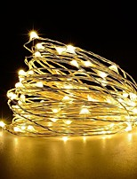 cheap -USB Operated Copper Wire Starry Lights 5m 50 LED String USB DC 5V for Chritsmas Wedding Halloween Patio Party 1pc