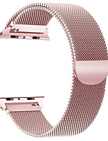 cheap -Milanese Stainless Steel Band for Apple watch 44mm/40mm/42mm/38mm iwatch5/4/3/2/1 Stainless Steel Chain Steel Wristband Magnetic Buckle