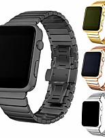 cheap -Fashion Stainless steel strap For Apple watch band 44mm/40mm apple watch 5 3 4 band iwatch 42mm 38mm Luxury Link bracelet belt