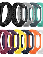 cheap -Watch Band for Galaxy fit e R375 / Galaxy  Fit-e Galaxy  Fit SM-R375 Samsung Galaxy Sport Band Silicone Wrist Strap