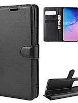 cheap -For Galaxy S20/S20 Plus/S20 Ultra Litchi Texture Horizontal Flip Protective Case with Holder & Card Slots & Wallet