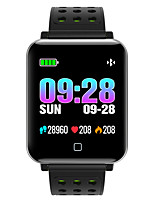 cheap -M19 Unisex Smart Wristbands Android iOS Bluetooth Touch Screen Heart Rate Monitor Blood Pressure Measurement Sports Long Standby ECG+PPG Pedometer Activity Tracker Sleep Tracker Sedentary Reminder