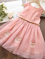 cheap -Kids Girls' Fruit Dress Blushing Pink