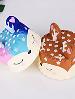 cheap -1 Squeeze Toy / Sensory Toy Slow Rising Stress Reliever Fox Cake Stress and Anxiety Relief Decompression Toys Kawaii Resin 1 pcs Child's Adults' All Toy Gift
